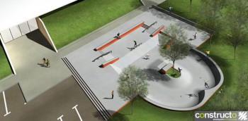 Skatepark de saint Georges d'Orques