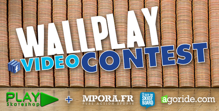 Couverture du concours Wallplay video contest