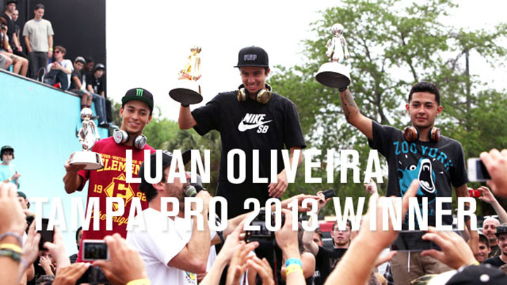 Luan Oliveira winner tampa pro 2013