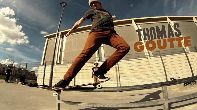 Vidéo de skate