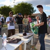 Mathis Regeste vainqueur du contest PLAY Skateshop -16 ans