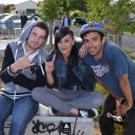 Dimitri, Cindy et Yanouk Martinez