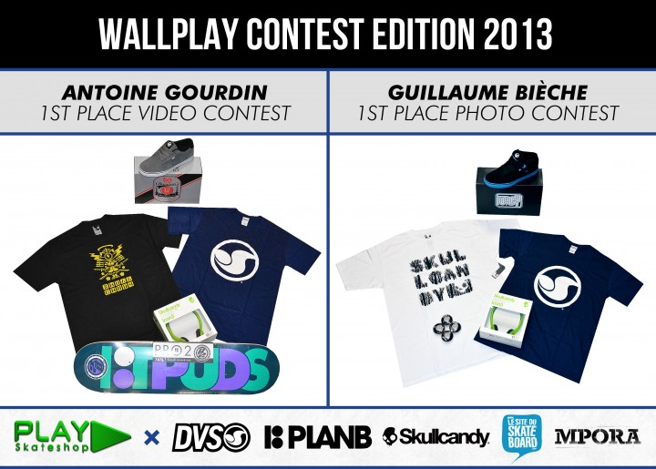 winner wallplay contest 2013 antoine gourdin et guillaume bieche