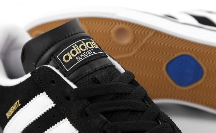 Adidas Busenitz black white royal blue