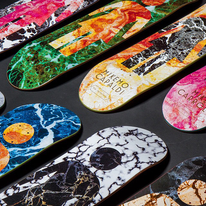 GIRL Lose Your Marbles pro skate decks