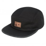 dc-skateboarding-melter-5-panel-anthracite-black-marooned-casquette-reglable-five-panel