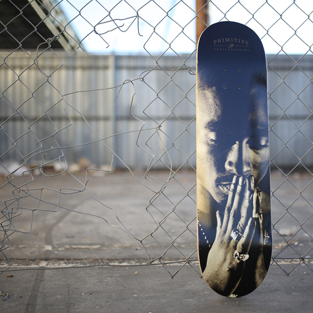 2PAC Deck in the street