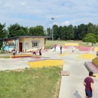 Panoramique du skatepark de St-Sulpice