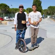 Damien Souchet BMX et Marc Gerard SKATE