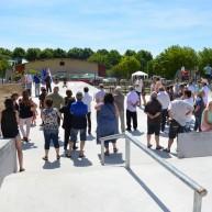 Inauguration skateparc Capestang