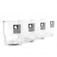 carhartt-stackable-glasses-glass-black-pack-de-4-verres