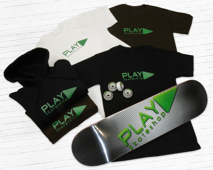 Collection Play Skateshop vêtements et matos de skateboard