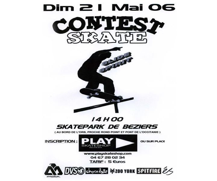 Contest de skate PLAY Skateshop 2006