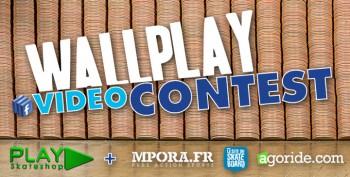 Couverture du concours Wallplay video contest