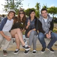 Sylvain Gentil, Laura, Cindy et Dimitri