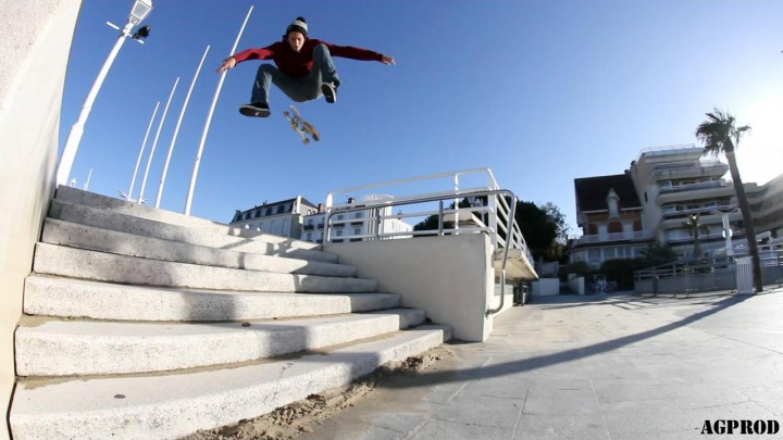 antoine gourdin shoote maxime martin - semaine 7 wallplay photo contest