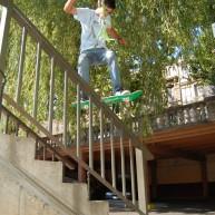 Jutix - FS Boardslide handrail Narbonne