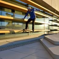 Sylvain Gentil - back noseslide à PierresVives MTP - Jutix