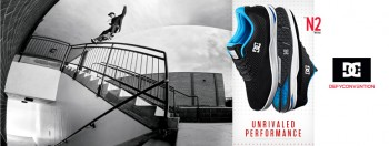 DC N2 skate shoes Nyjah Huston 2015