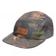 element-orchid-cap-camo-orange-fluo-casquette-5-panel