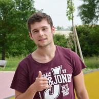 Pierre au skatepark de Saint-Sulpice