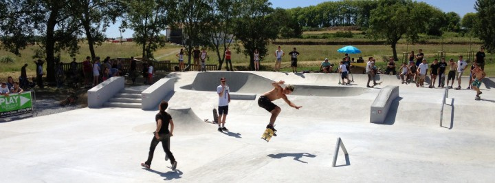 panoramique-inauguration-best-trick-play-skateshop-capestang