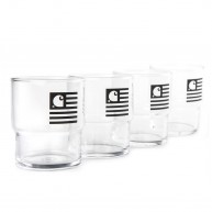 carhartt-stackable-glasses-glass-black-pack-de-4-verres
