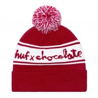 huf-x-chocolate-chunk-pom-bonnet-a-pompom-noir-rouge-1