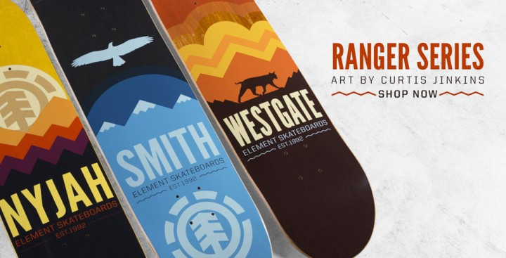 element-skateboards-ranger-series