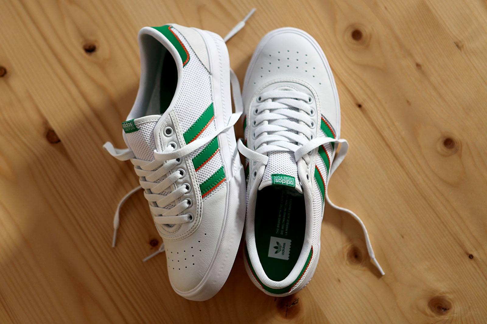 huge selection of 15436 71065 adidas-skateboarding-lucas-premiere-adv-white-green-popname