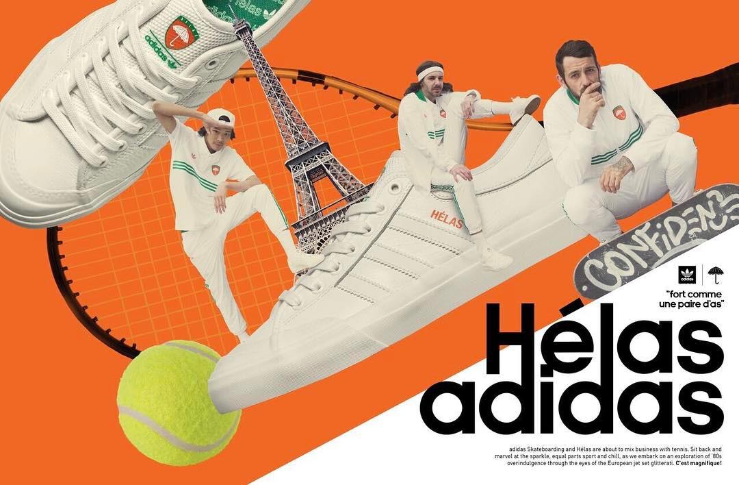 amazing price latest design shop Collaboration ADIDAS X HÉLAS Caps /// Adidas Skateboarding ...