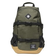 element-jaywalker-backpack-sac-a-dos-moss-heather-sangles-de-transport-skate