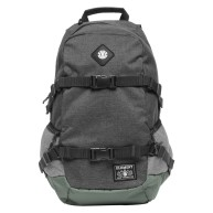 element-jaywalker-moss-heather-sac-a-dos-avec-sangles-de-transport-skate