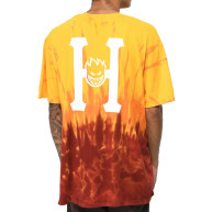 HUF-x-Spitfire-Classic-H-Red-Tie-Die-T-Shirt-_301477-front-US
