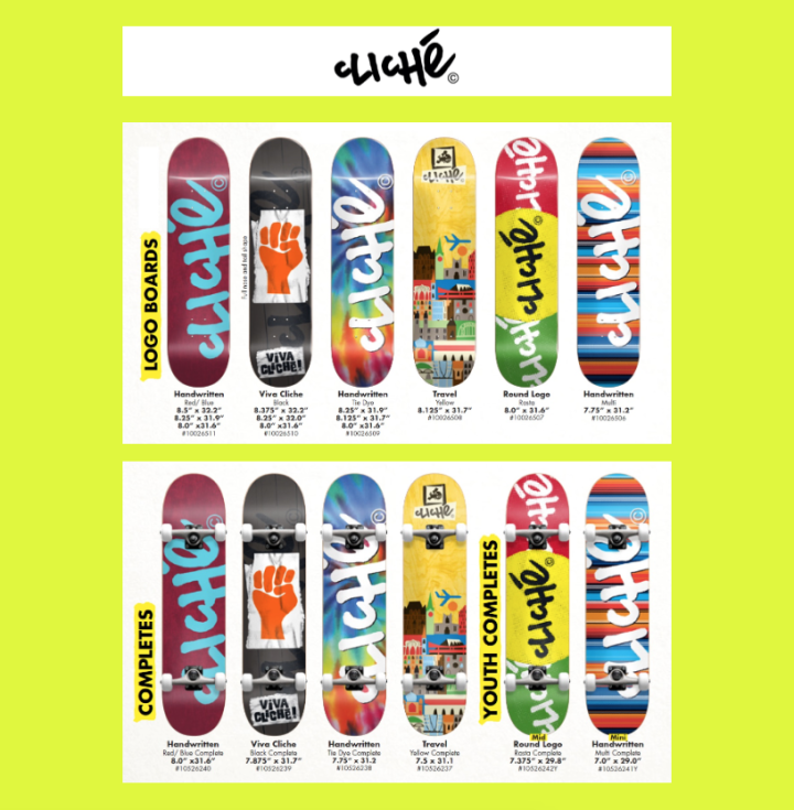cliché-skateboards-2019-is-back